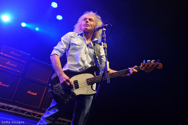 Alan Lancaster Londonban, 2014. március 28-án