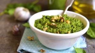 Pesto dióval – naná, hogy ősszel nem maradhat ki