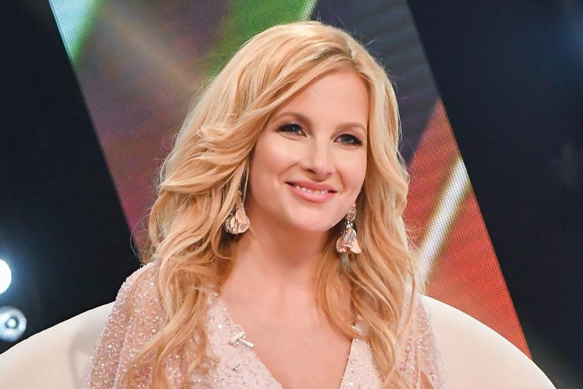 Várkonyi Andrea a TV2 Neked énekelek című gálaműsorában 2021. május 31-én.