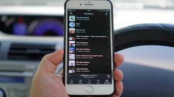 Baj van a Spotify-jal az iPhone-okon