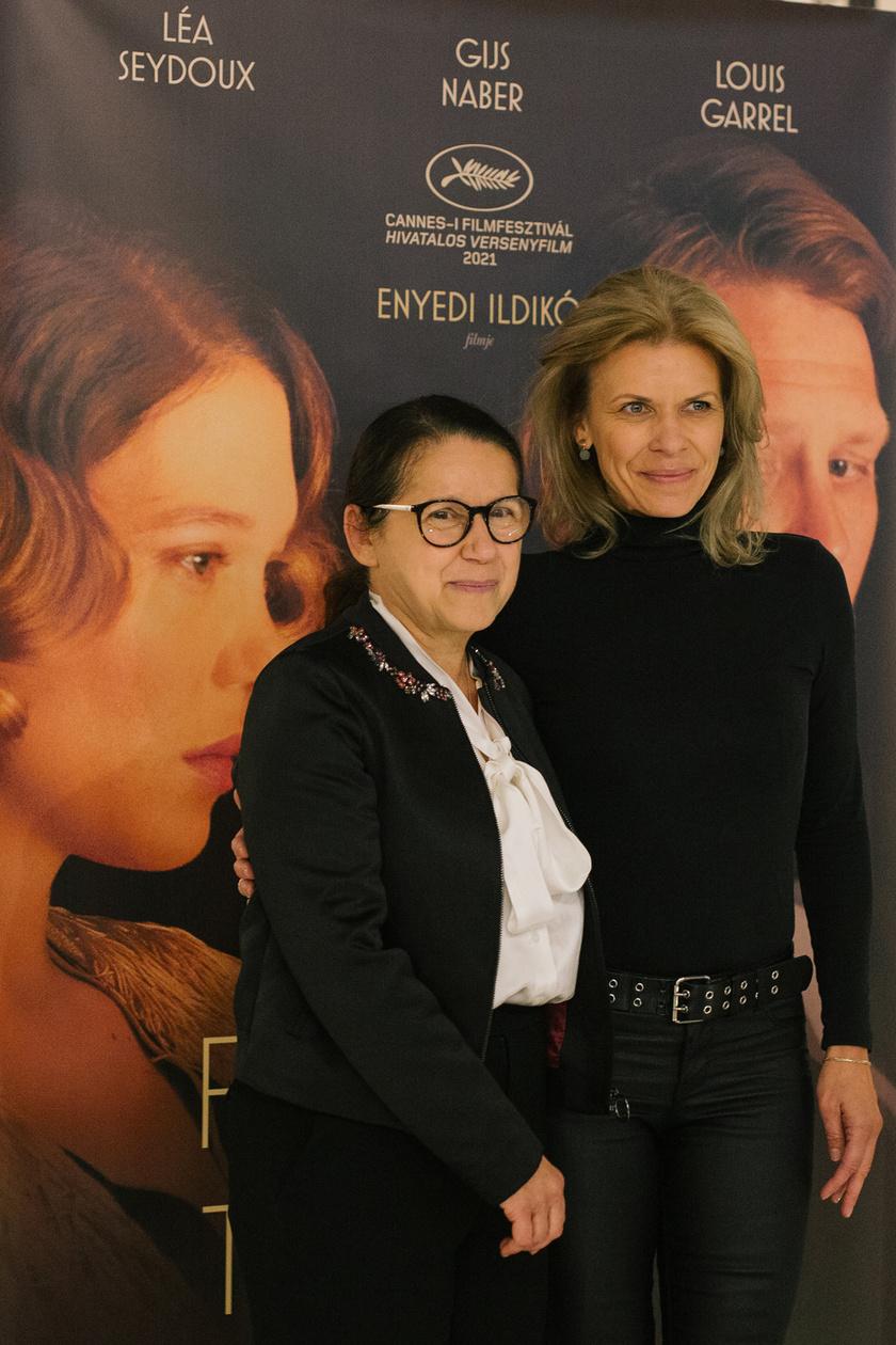 Schell Judit és a Feleségem története rendezője, Enyedi Ildikó a film szeptember 20-i díszbemutatóján.