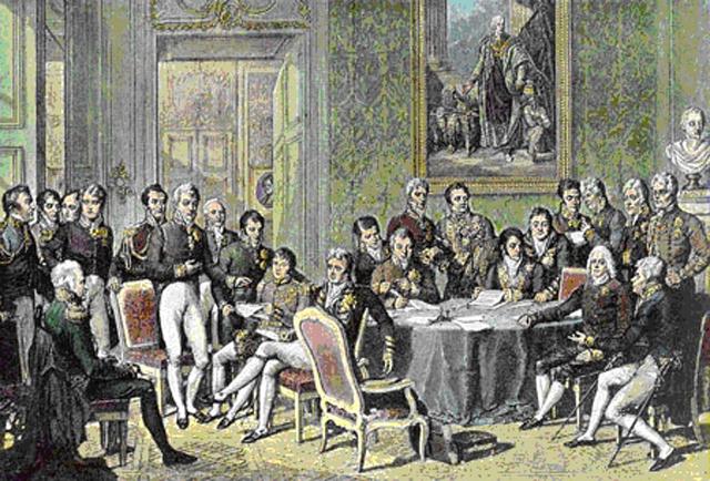 A Bécsi Kogresszus 1815-ben