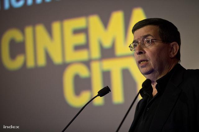 """Moshe """"Mooky"""" Greidingernél, az izraeli székhelyű Cinema City International elnök-vezérigazgatója"""
