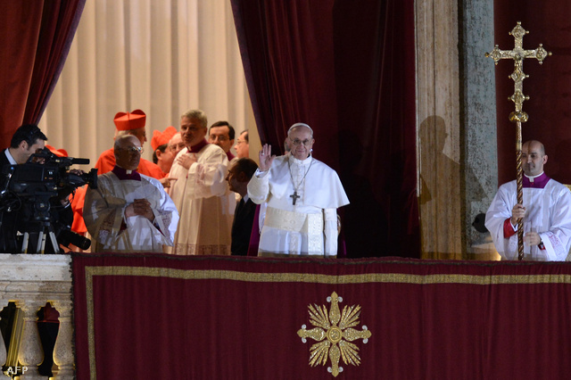 I. Ferencnek hívják, argentin az új pápa