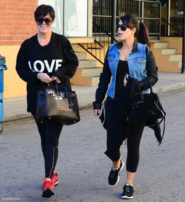 Kris Jenner és leghíresebb lánya, Kim Kardashian