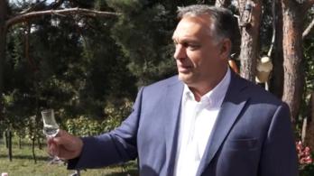 Orbán Viktor: Azért jöttem, hogy igyak