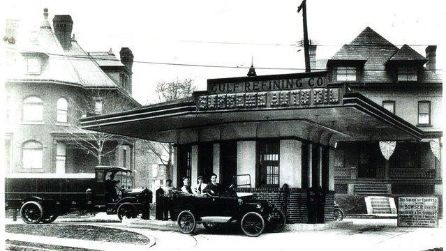 A világ első benzinkútja
