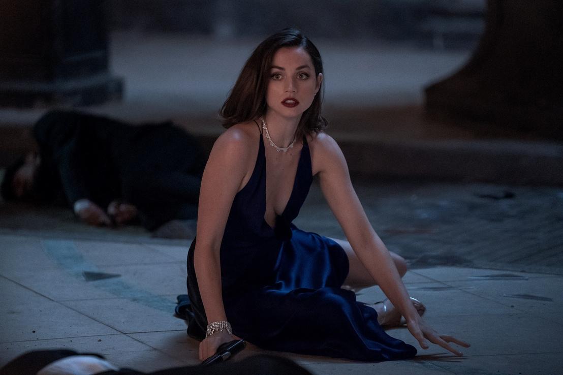 Ana De Armas a 007 Nincs idő meghalni című filmben