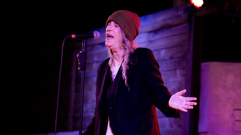 Patti Smith koncertet ad a Müpában