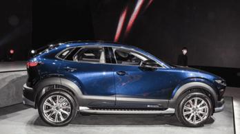 Meglepő látvány a legújabb Mazda