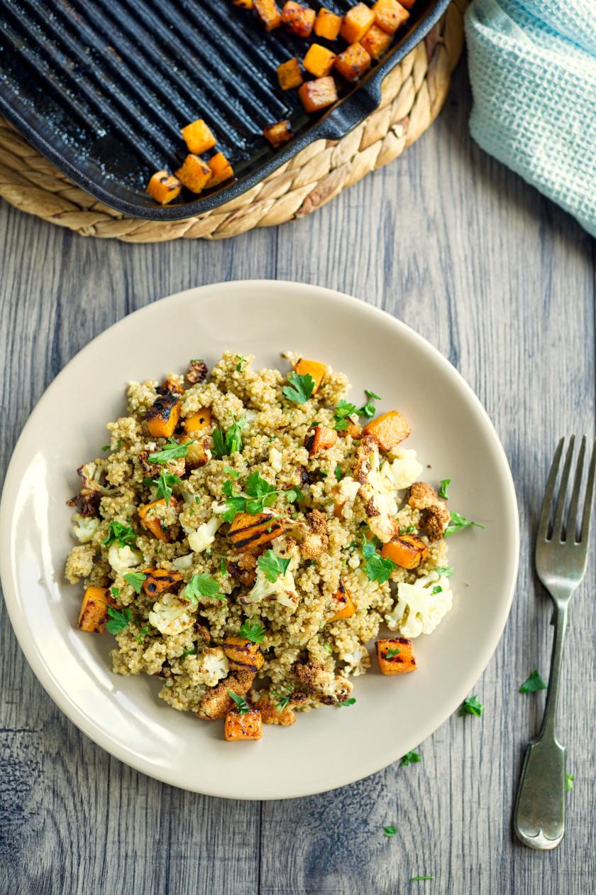 quinoa saláta álló ok