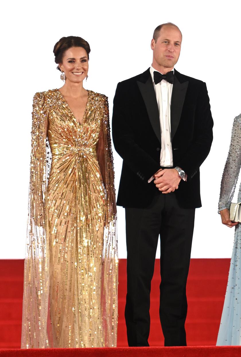 Katalin hercegné estélyi ruhája mindenkit elvarázsolt a kedd esti premieren.