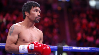 Visszavonul és politikai karrierbe kezd Manny Pacquiao