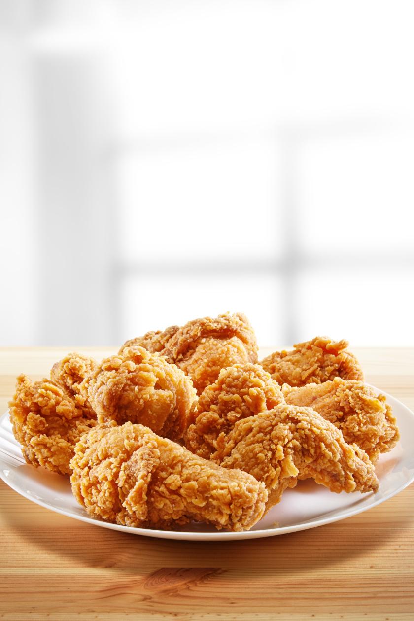 kentucky csirke álló