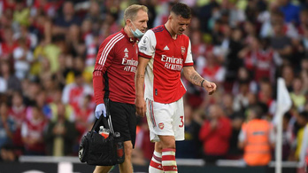 Hónapokra kidőlt az Arsenal kulcsjátékosa