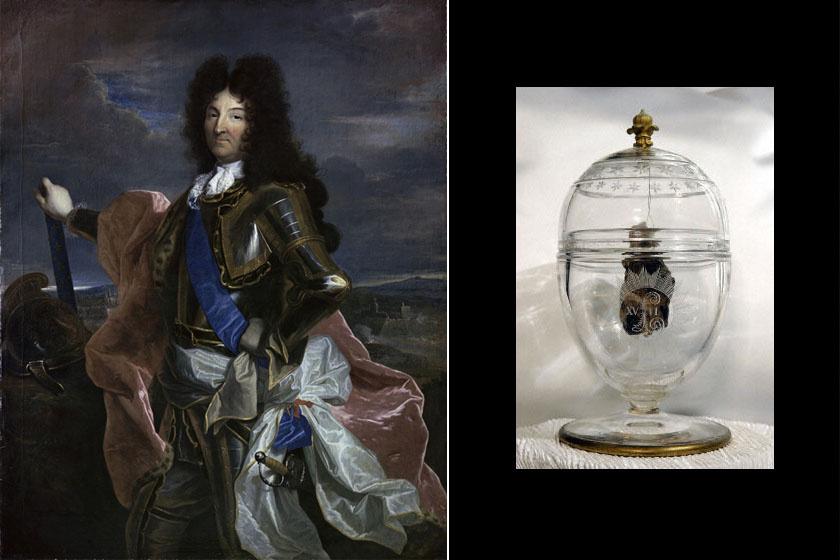 Amikor XIV. Lajos 1715-ben meghalt, szívét az apja szíve mellé helyezték Párizsban, Szent Pál és Szent Lajos templomába. A mumifikálódott szív ma is egy díszes üvegtárolóban pihen.