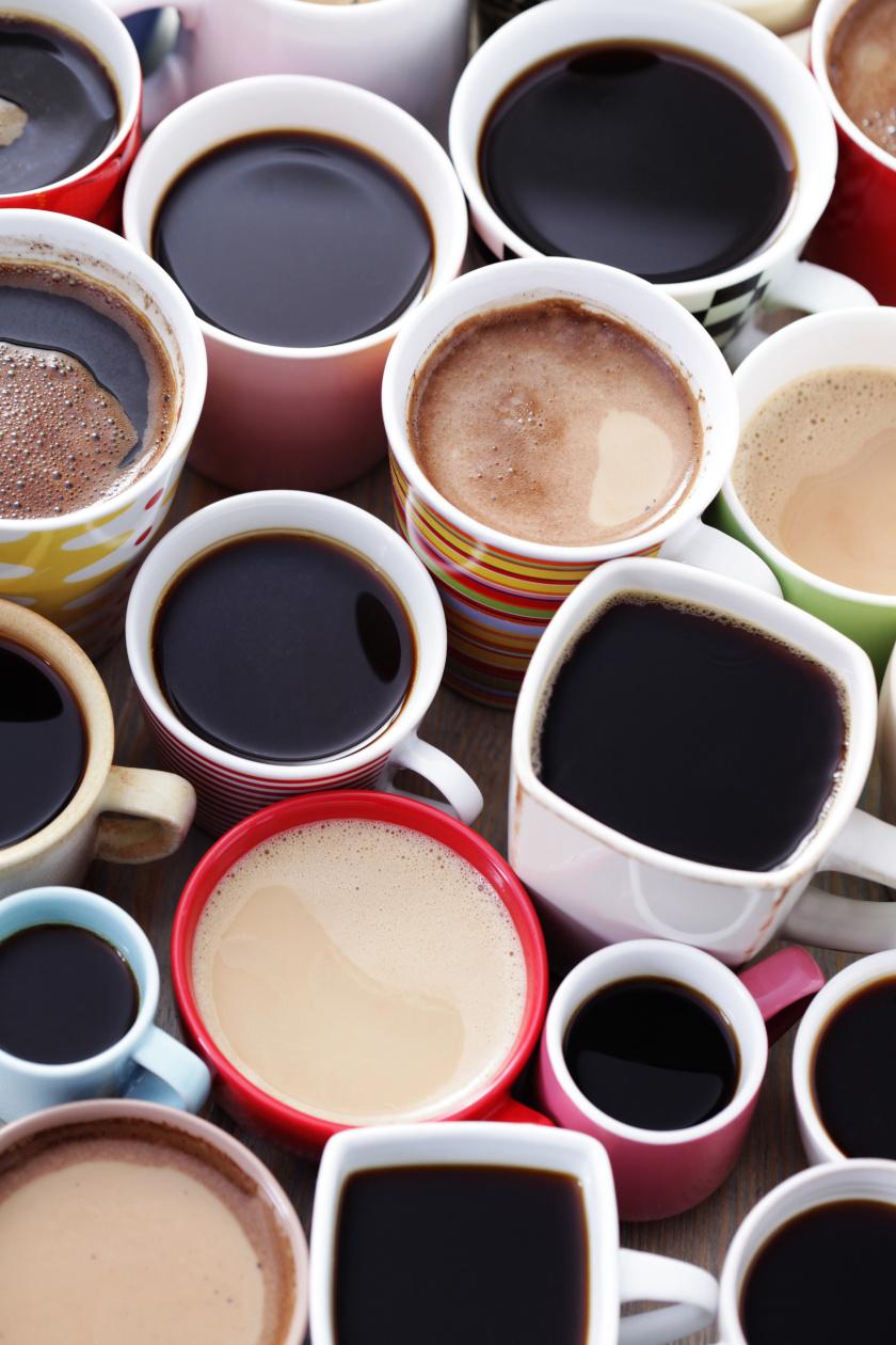 teák és kávék álló