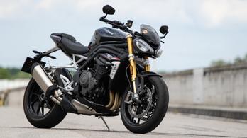 Teszt: Triumph Speed Triple RS - 2021.