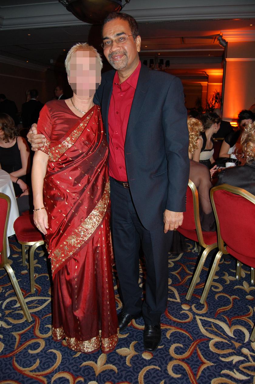 Joshi Bharat és felesége, Csilla a 2012-es Story-gálán.