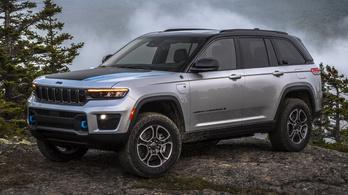 Ezt a Jeep Grand Cherokee-t kapjuk mi