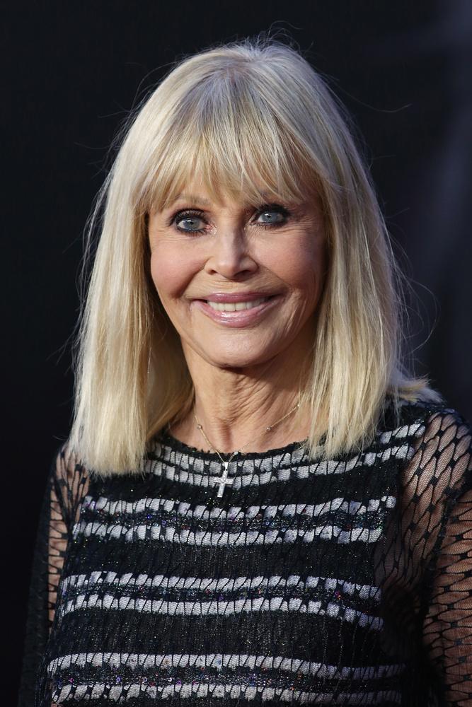 A színésznő most 78 éves, három férfitól három gyermeke született