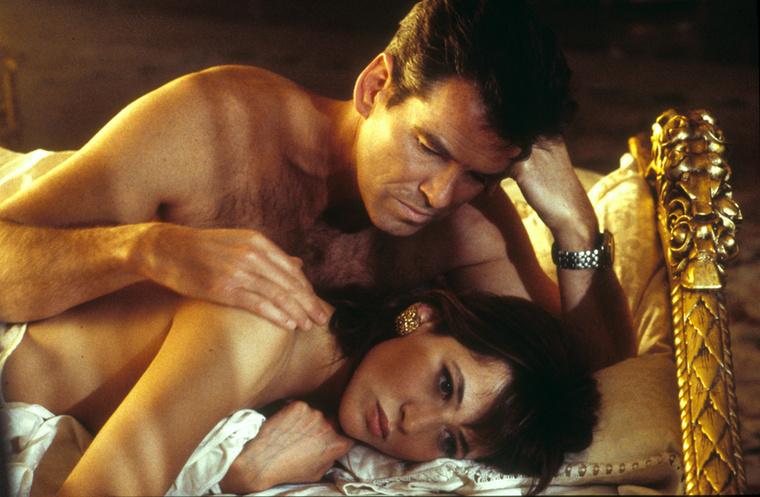 Sophie Marceau francia színésznő Elektra Kingként tűnt fel az 1999-es A világ nem elég című filmben