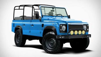 Ez a Land Rover igazából egy Jeep