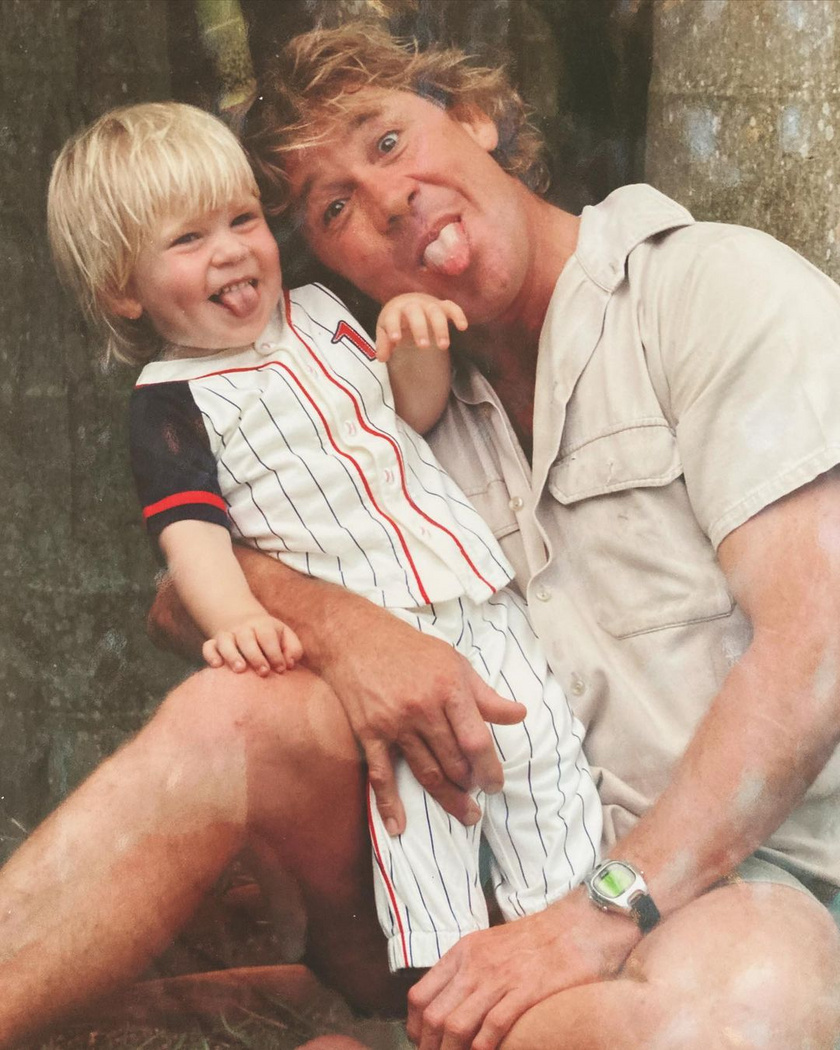 Robert még csak kétéves volt, amikor elvesztette édesapját, aki egy tüskésrája támadásának esett áldozatául.