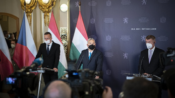 Kitiltották az ellenzéki sajtót az Orbán-Babis sajtótájékoztatóról