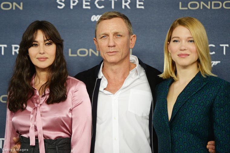 A hazai nézők legutóbb 007 Spectre: A Fantom visszatérben láthatták a mozikban Lucia szerepében