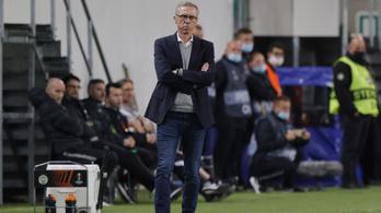 Stöger a Ferencvárosról: A topcsapatok könyörtelenül megbüntetik a hibáinkat