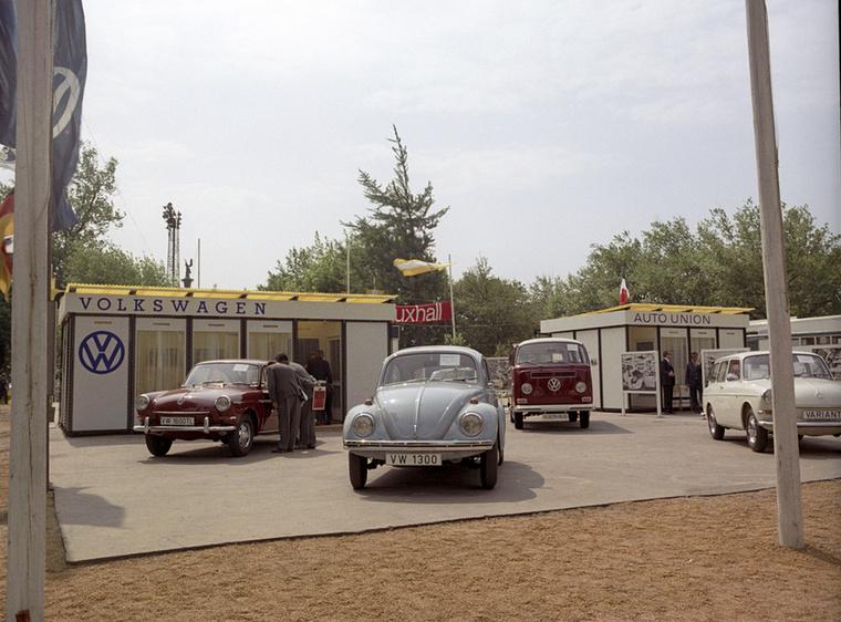 Egy más világ: nyugati autók, Volkswagenek a Városligetben megrendezett 1968-as BNV-n