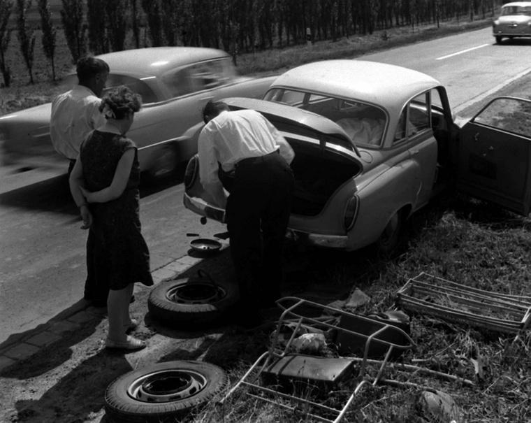 Az autózás persze nem volt mindig zökkenőmentes
