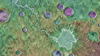 Krátertavakból induló áradások formálhatták a Mars felszínét