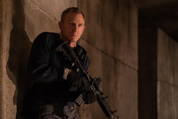 Daniel Craig a 007 Nincs idő meghalni című filmben
