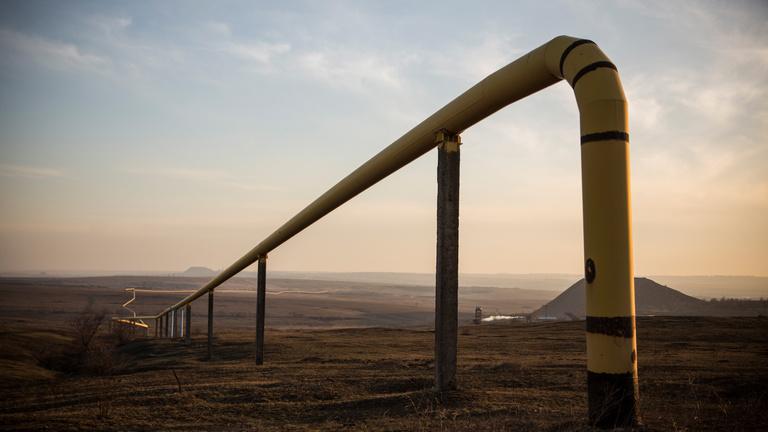 Történelmi csúcson a földgáz ára Európában