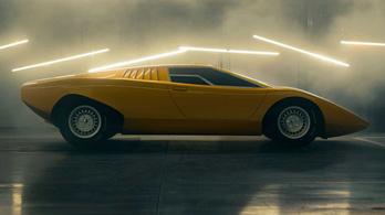 Ötven éves sportkocsit épített a Lamborghini