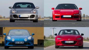 Négy autó, ami számomra a jóságot jelenti