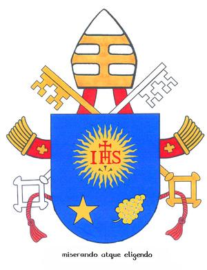 Ferenc pápa címere
