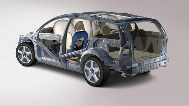"""Egy Volvo V50 """"sallang"""" nélkül, kicsit huzatos, de már lehet vezetni"""