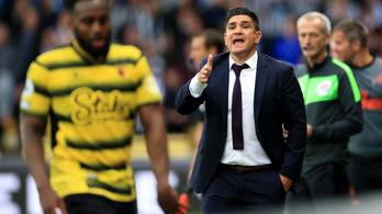 Tíz hónap után menesztették a Premier League-csapat vezetőedzőjét