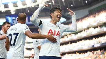 Három bajnoki vereség után újra győzött a Tottenham