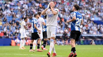 Újabb meglepő vereséget szenvedett a Real Madrid
