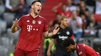 Az eddig nyeretlen Frankfurt idegenben verte a Bayern Münchent