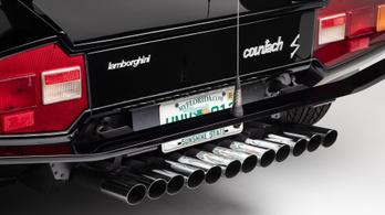 Washingtonban állították ki az Ágyúgyolyó futam Lamborghinijét