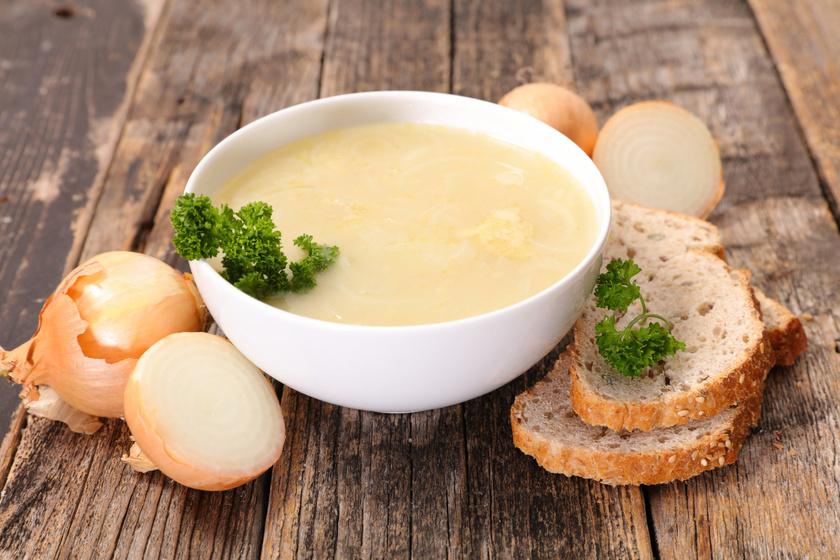 Háromhagymás krémleves: igazi immunerősítő finomság a hideg őszi napokra