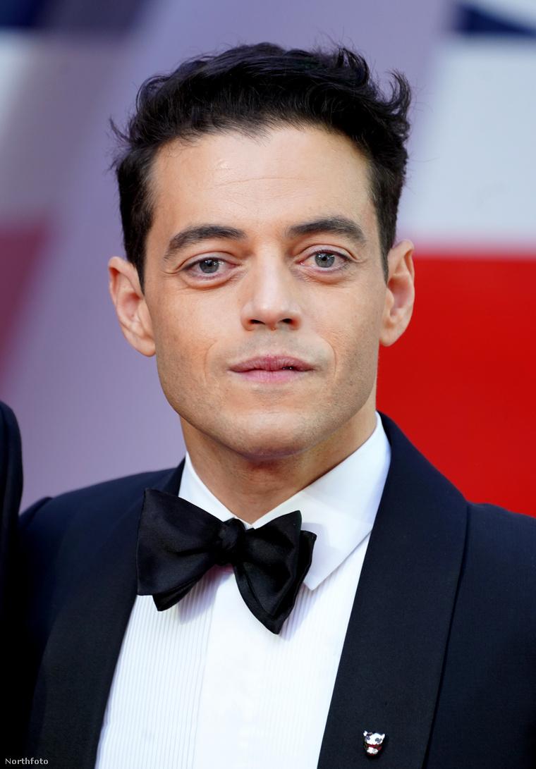Az eseményen beszédet mond a film főgonoszának megformálója, Rami Malek.