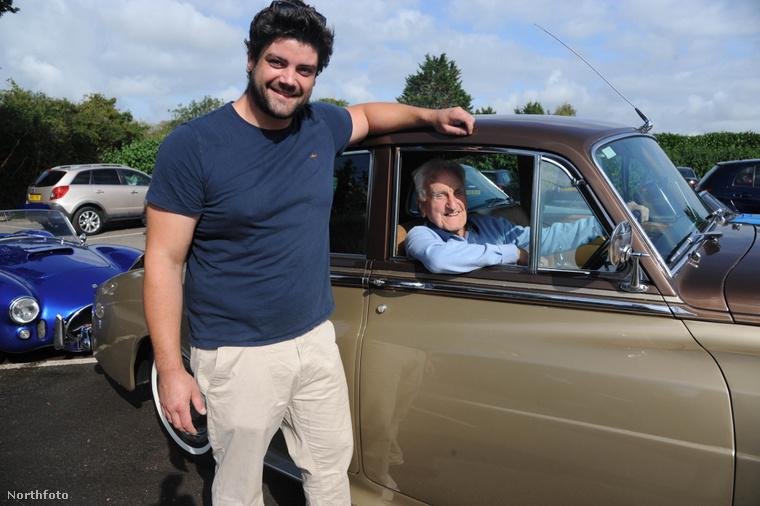 Az autót Hughes unokája, James kutatta fel.