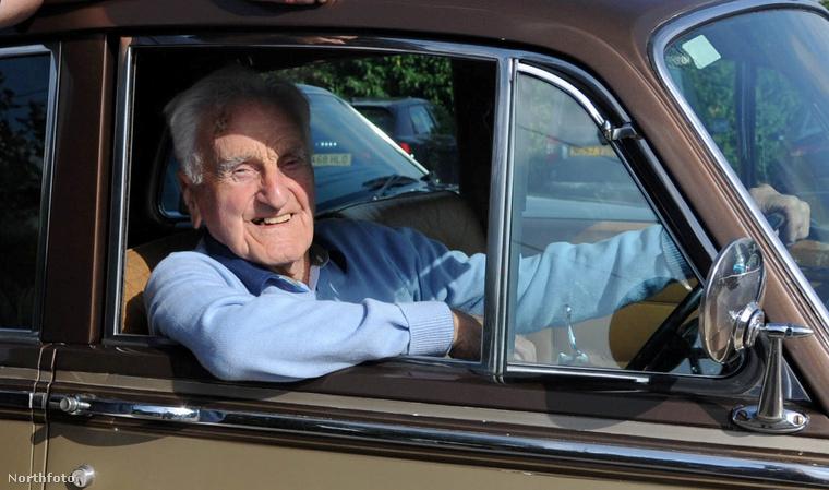 Eddie Hughes közel 60 év után ülhetett újra a Bentley volánja mögé.