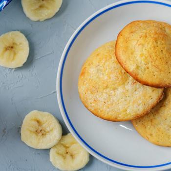 Puha keksz banánnal a tésztájában – Jó érett gyümölccsel dolgozz